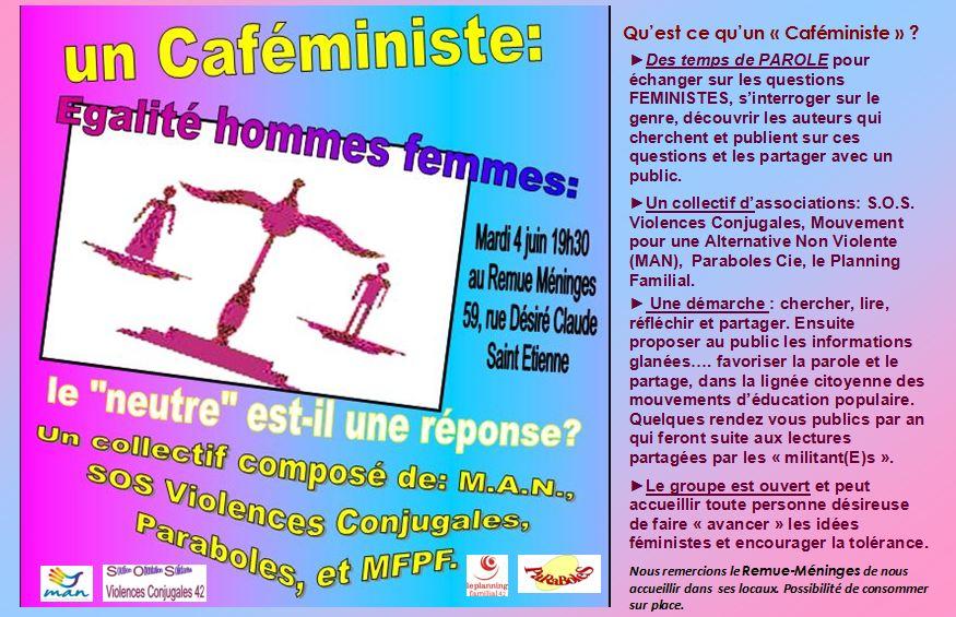 Les CAFEMINISTES dans --- Les Cafeministes capture